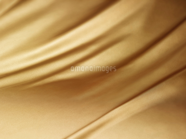 ゴールドの布バックの写真素材 [FYI01502055]