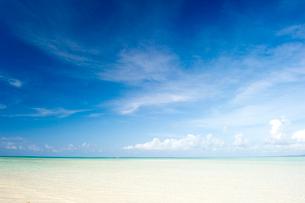 南の島の海の写真素材 [FYI01502305]