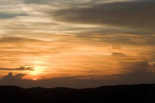 夕暮れの空の写真素材 [FYI01502370]