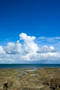 海と雲の写真素材 [FYI01502505]
