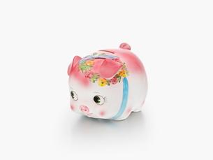 豚の貯金箱の写真素材 [FYI01502900]