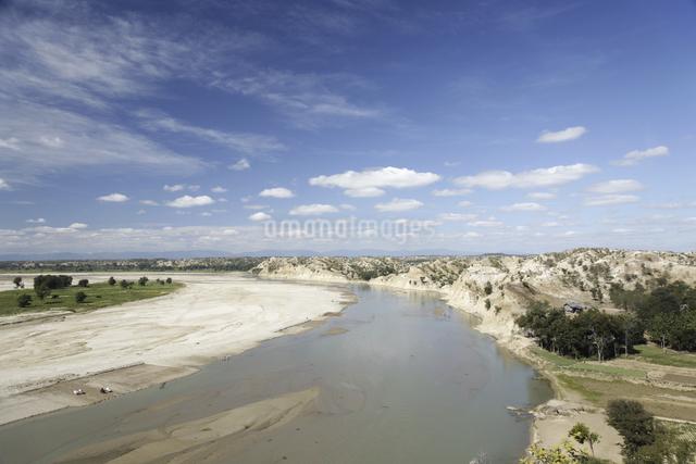 バガンの川辺の写真素材 [FYI01503443]