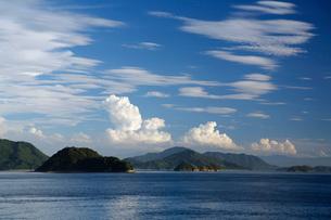 竹原市から見た瀬戸内海の写真素材 [FYI01503980]