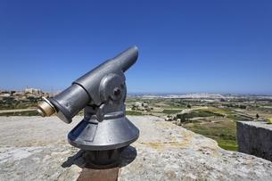 イムディーナの街の望遠鏡の写真素材 [FYI01504011]