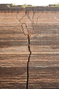 ミングォンパヤーのひび割れの写真素材 [FYI01504048]
