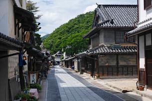 竹原市重要伝統的建造物群保存地区の写真素材 [FYI01504082]
