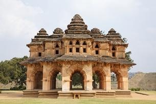 Royal Centre, Zanana Enclosure; Lotus Mahalの写真素材 [FYI01504355]