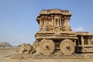 Vittala Temple; stone chariotの写真素材 [FYI01505065]
