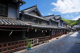 竹原市重要伝統的建造物群保存地区の写真素材 [FYI01505391]