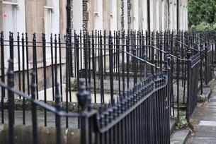 iron fencesの写真素材 [FYI01505801]
