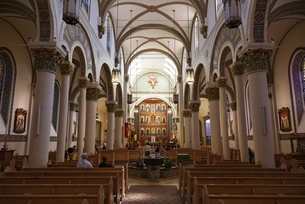 Cathedral Basilica of St Francis of Assisiの写真素材 [FYI01505829]