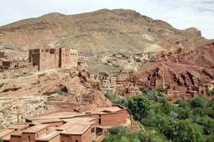 village, kasbahの写真素材 [FYI01505877]