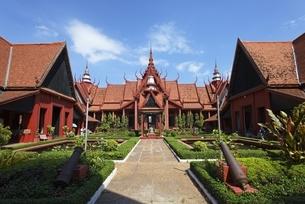 National Museum, inner courtyardの写真素材 [FYI01506166]