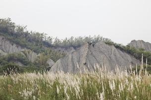eroded hillsの写真素材 [FYI01506233]