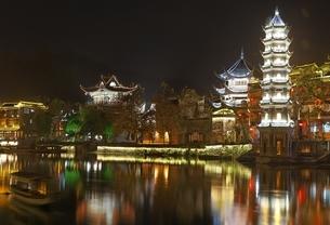 Wanming Pagodaの写真素材 [FYI01506343]