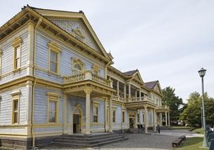 Old Public Hall of Hakodate Wardの写真素材 [FYI01506532]