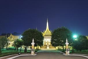 Royal Palace, Phnom Penh, Cambodiaの写真素材 [FYI01506725]