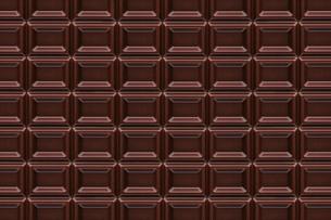 一面のチョコレートの写真素材 [FYI01506938]