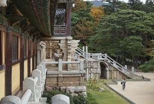 Bulguksa Temple, Gyeongju, Gyeongsangbuk-do, Koreaの写真素材 [FYI01507433]