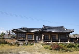 house, Hahoe Village, Gyeongsangbuk-do, Koreaの写真素材 [FYI01507468]