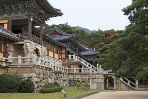 Bulguksa Temple, Gyeongju, Gyeongsangbuk-do, Koreaの写真素材 [FYI01507653]