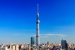 東京スカイツリーの写真素材 [FYI01508186]