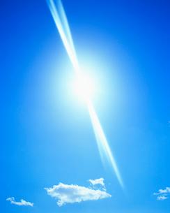 太陽の光芒の写真素材 [FYI01511827]