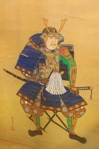 武田信繁の肖像画の写真素材 [FYI01513513]