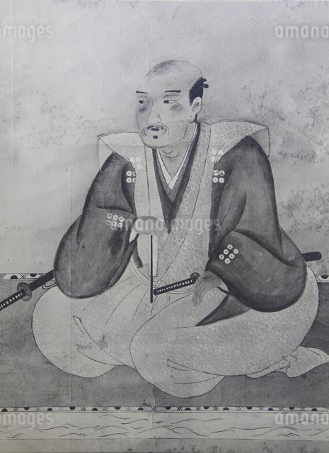 真田幸村肖像画のイラスト素材 [FYI01514512]