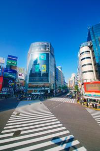 渋谷駅前スクランブル交差点の写真素材 [FYI01514978]