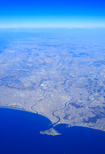 江ノ島と藤沢市の写真素材 [FYI01516679]
