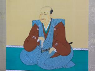 真田幸村肖像画のイラスト素材 [FYI01517000]