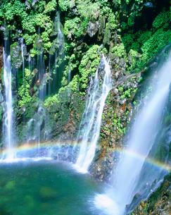 幕滝と虹の写真素材 [FYI01517585]