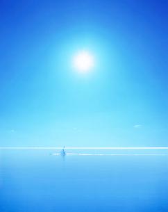 カヌーと海の写真素材 [FYI01517717]