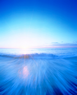 海と朝日の写真素材 [FYI01518542]