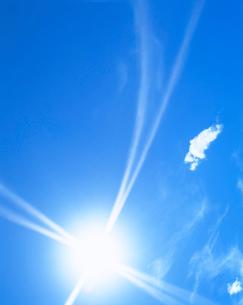 太陽と雲の写真素材 [FYI01518835]
