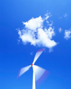 風力発電の風車の写真素材 [FYI01519216]