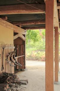 旧農機具の写真素材 [FYI01521463]