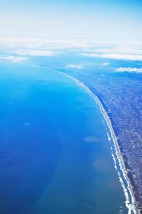 鹿島灘の海岸線の写真素材 [FYI01521854]