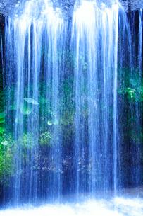 滝状の岩清水の写真素材 [FYI01523205]
