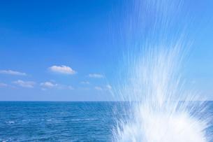 波しぶきの写真素材 [FYI01526787]