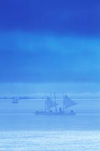 打瀬船 北海シマエビ漁の写真素材 [FYI01527257]