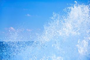 波しぶきの写真素材 [FYI01527658]