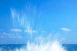 波しぶきの写真素材 [FYI01527902]