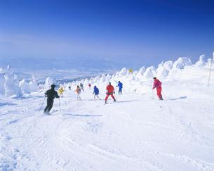 蔵王スキー場の写真素材 [FYI01527939]