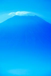 富士山と湧く雲の写真素材 [FYI01528014]