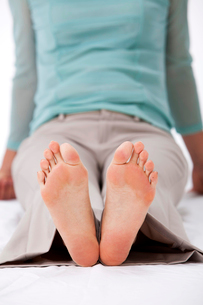 女性の足の裏の写真素材 [FYI01529574]