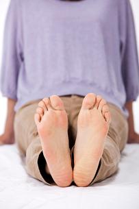 女性の足の裏の写真素材 [FYI01529893]