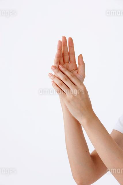 20代女性の手の写真素材 [FYI01530303]