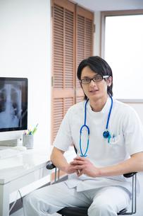 診察室の医者の写真素材 [FYI01531660]